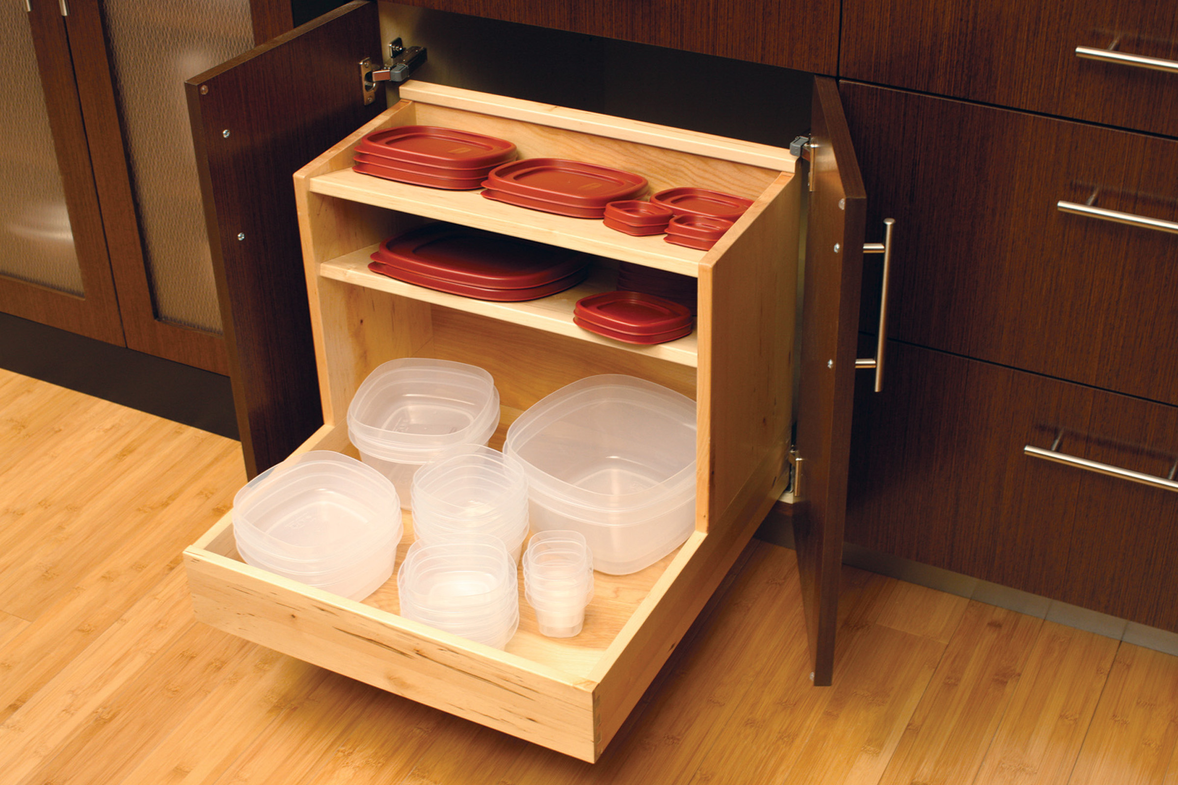 ‰Pot & Pan Roll-Out For Container Storage